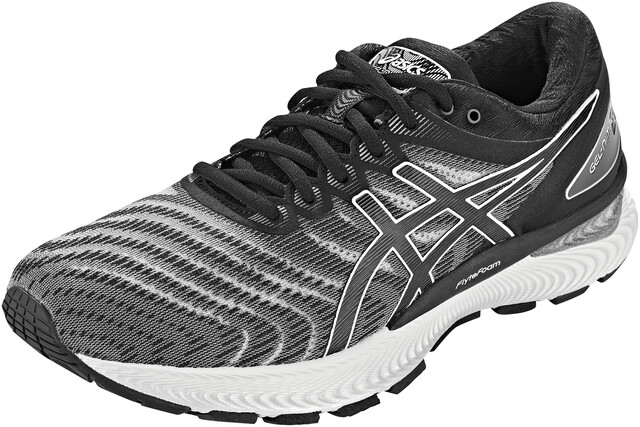 asics Gel Nimbus 22 Schuhe Herren whiteblack